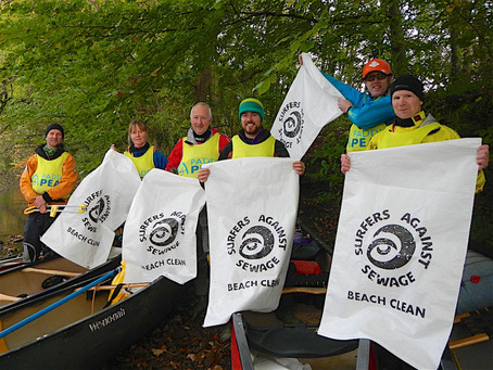 The Great River Derwent Clean Up. October 21-25th. Rowsley to Milford.