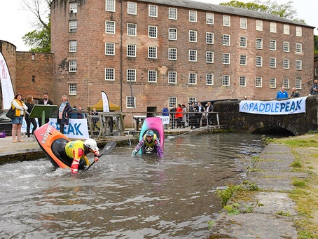 Paddle Peak Launch - Cromford MIll. May 10th.