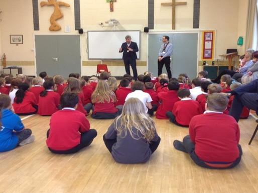 Little Thetford Primary School Visit