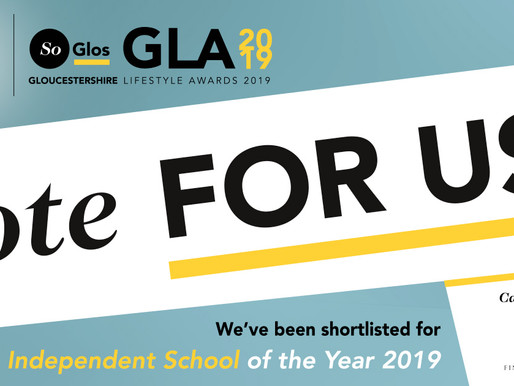 Bredon is shortlisted for 'Independent School of the Year'