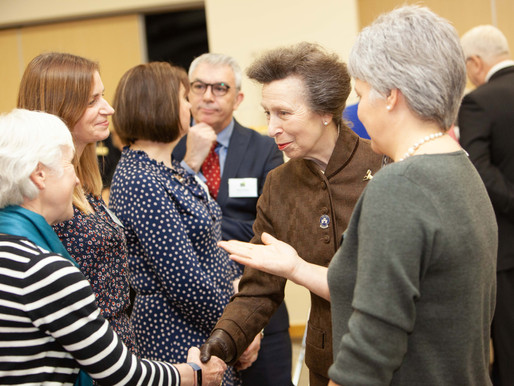 Bredon staff meet HRH The Princess Royal