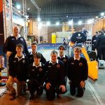 The Bloodhound helped along by Bredon School Cisco students.