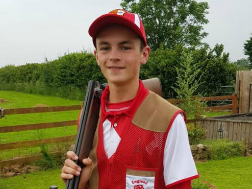 Pupil selected for English Olympic Skeet Shooting team