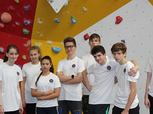 Bredon School's first Inter-school Climbing Challenge