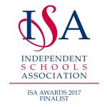 ISA Awards 2017 Finalist logo
