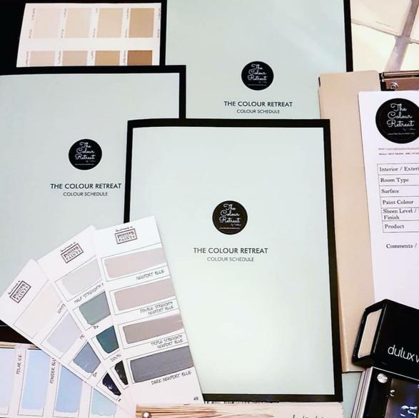 Colour & Paint Schedules