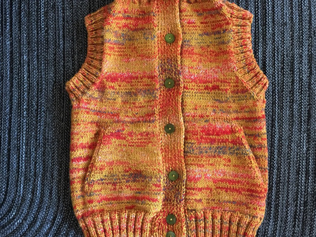 やっと働けるセーター