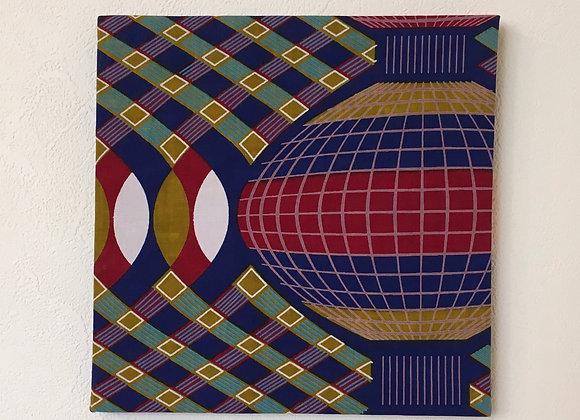 アフリカンバティック パネル(M)