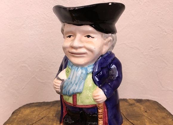 Vintage Colonial Man Creamer