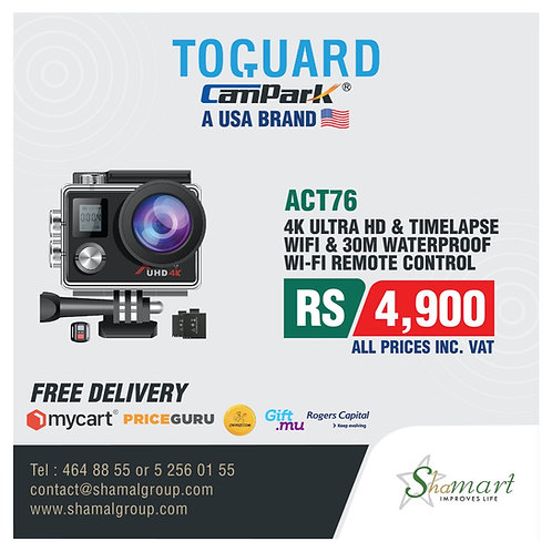 Campark ACT76 Action Cam