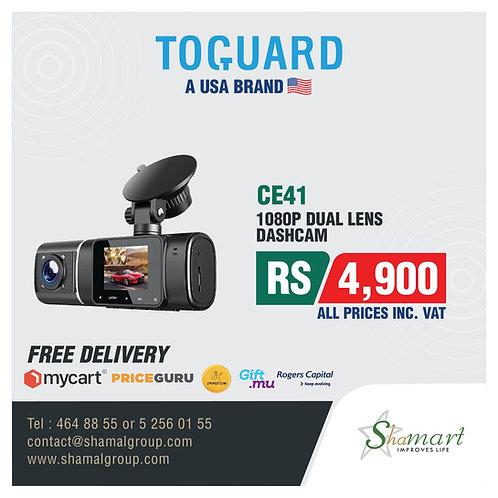 Toguard CE41 Dual Lens Dashcam