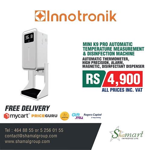 Mini K9 Pro Automatic Temperature Measurement & Disinfection Machine