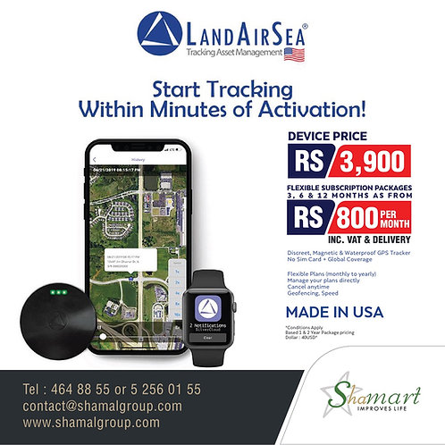 LandAirSea 54 [GPS Tracker]