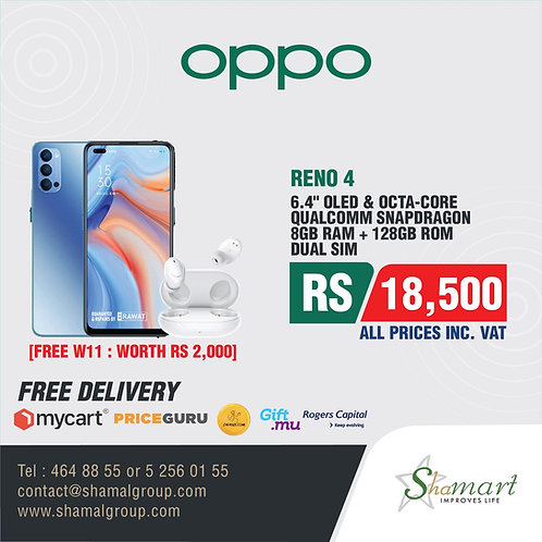 Oppo Reno4 (8GB+128GB)