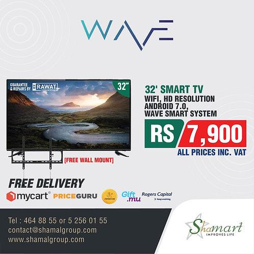 """WAVE TV - Frameless 32"""""""