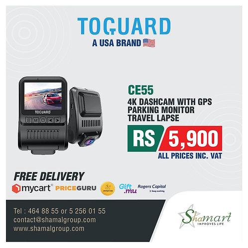 Toguard CE55 4K Ultra HD Dashcam