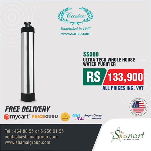Carico's Nutri-Tech WholeHouse Water Purification System