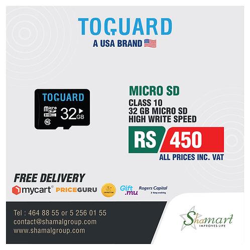 Toguard 32GB Class 10 Micro SD Card
