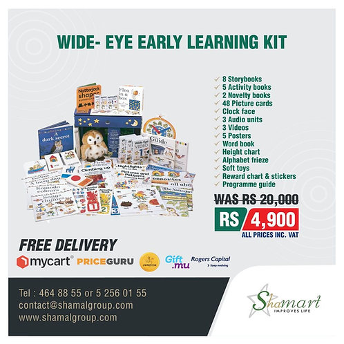 Wide Eye Multi Sensory Development Kit