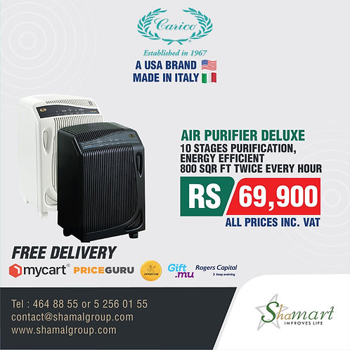 Carico's Nutri-Tech Deluxe Air Purification