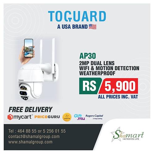 Toguard AP30 Dual Lens PTZ Security Camera