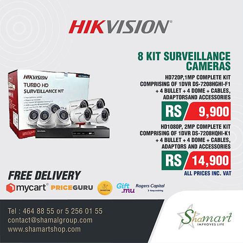 HIKVISION 8 Kit Surveillance Camera