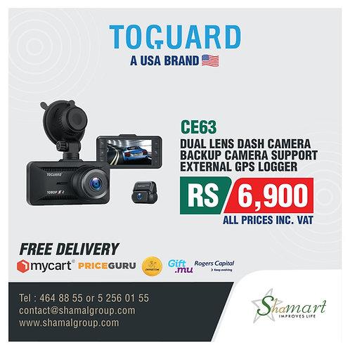 Toguard CE63 Dual Lens Dash Camera