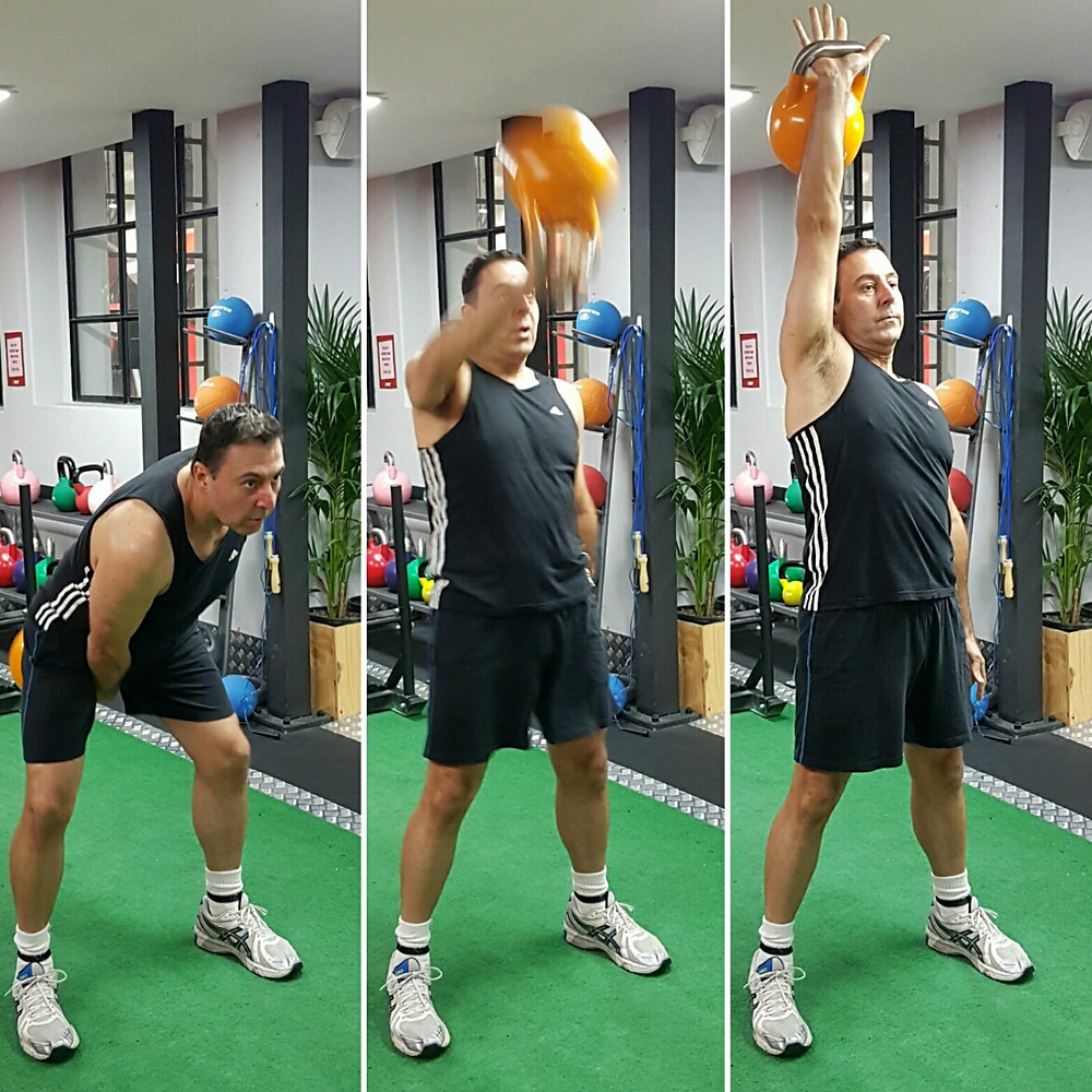 "Client Tony - Perform a ""Snatch"""