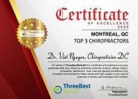 Dr Viet Nguyen Top chiropractor 2020