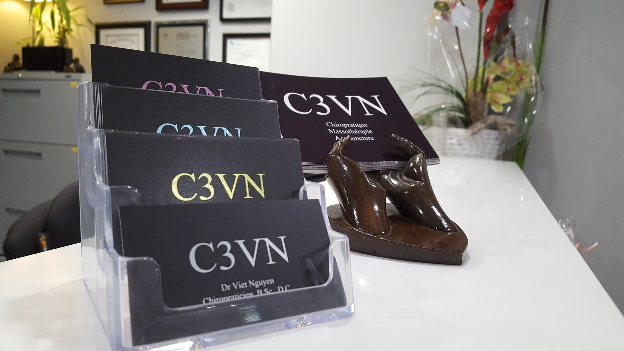 C3VN business cards