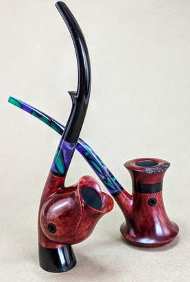 Wizard's Rook & Rose Cavalier matching set