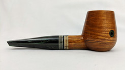 Olive wood Brandy with ox horn bands