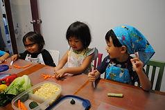 Cooking class,Montessori, Bellevue, Bilingual School