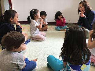 Music class, kids, Bellevue, preschool