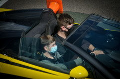 Young lad enjoying a McLaren