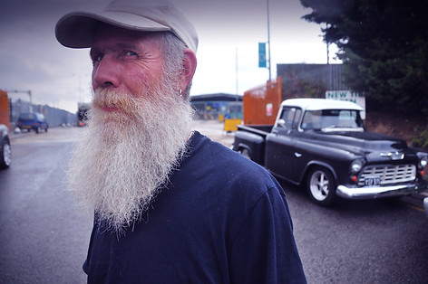 Old Man and His Truck