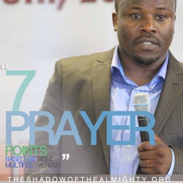7 PRAYER POINTS YOU CAN BOLDLY DECLARE AND GET YOU THROUGH