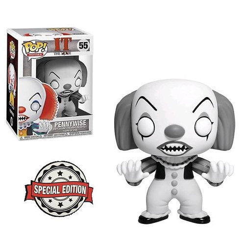 Pennywise Special Edition Black & White Funko Pop
