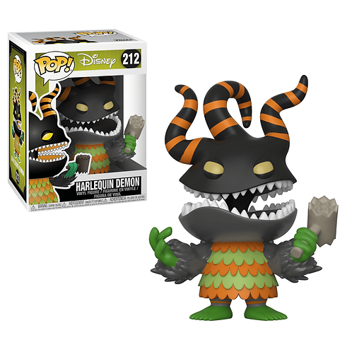 Nightmare Before Christmas Harlequin Demon Funko