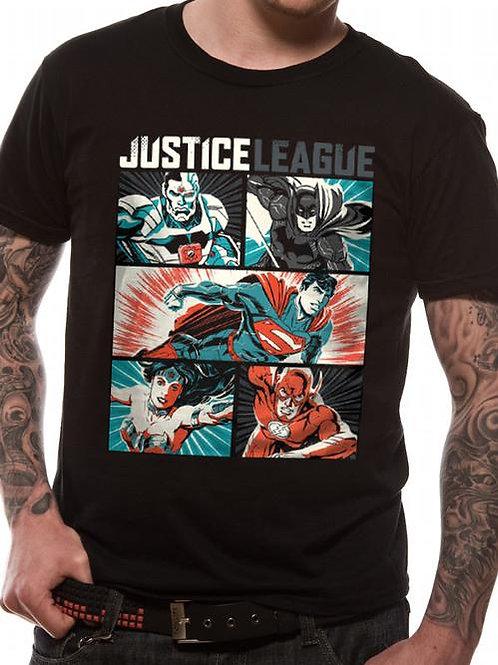 Justice League Pop Art T-Shirt