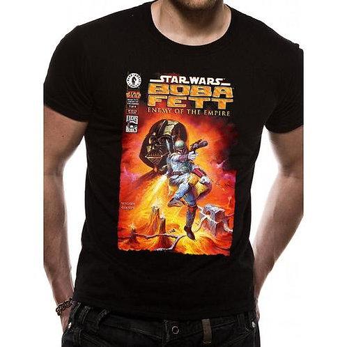 Boba Fett Enemy Comic T-Shirt