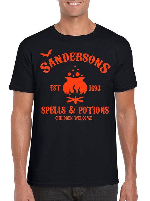 Sandersons Potion Shop T-Shirt Black
