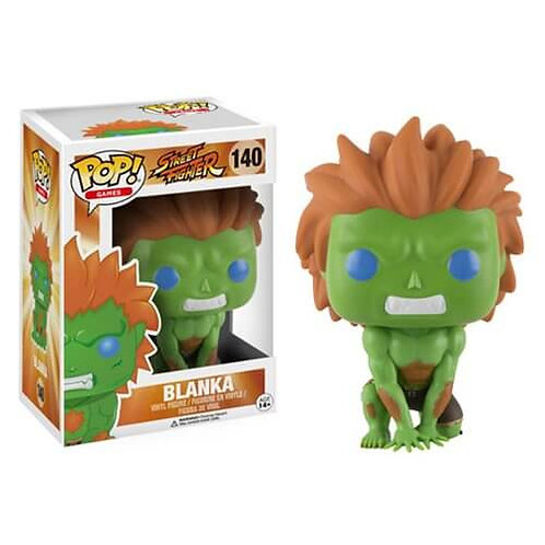 Streetfighter Blanka Funko Pop