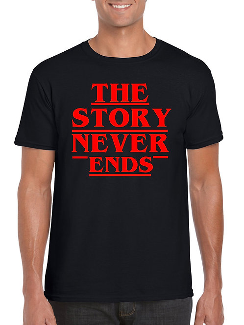 The Story Never Ends T-Shirt