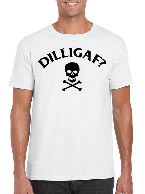 Dilligaf Skull T-Shirt White