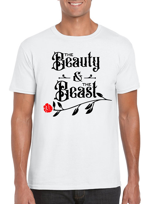 Beauty and the Beast T-Shirt White