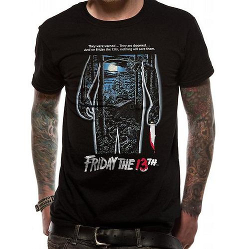 Friday 13th Movie Poster T-Shirt