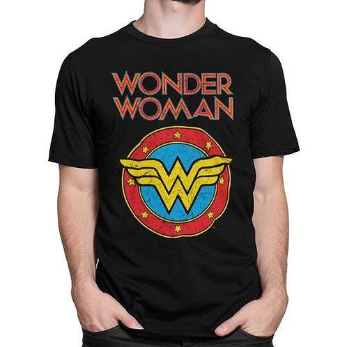 Wonder Woman Vintage Logo T-Shirt