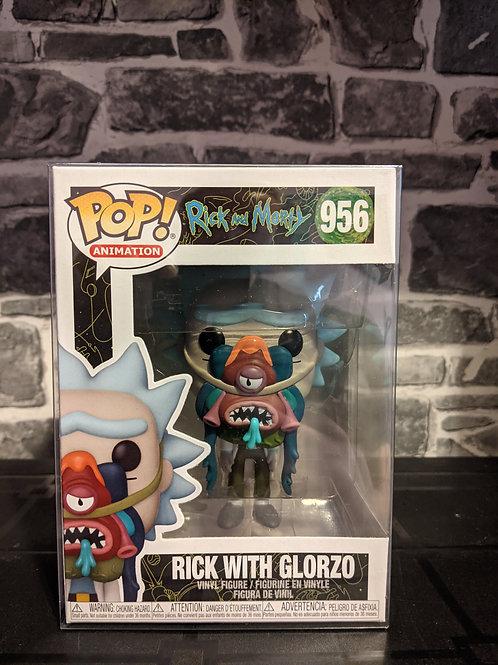 Rick & Morty - Rick with Glorzo