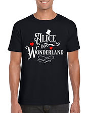 Alice In Wonderland Black T-Shirt.jpg